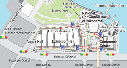 PACIFICO Yokohama Destination Parking