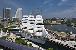 Sail Training Ship NIPPON MARU/ Yokohama Port Museum image